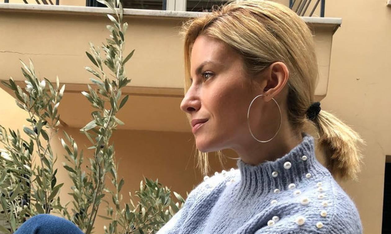 Η Ευαγγελία Αραβανή μιλά για την πιθανότητα εγκυμοσύνης της