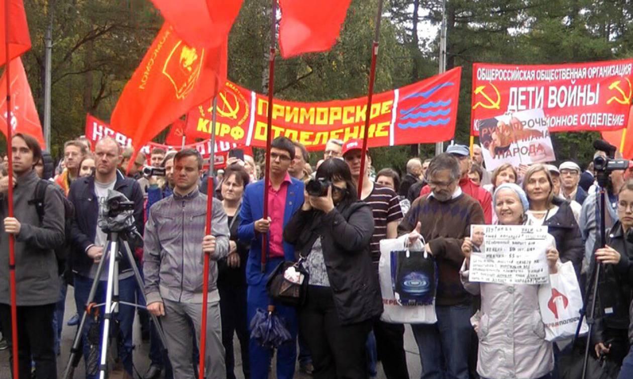 Петербург стал лидером по акциям протеста за последний год, и можно ожидать новых