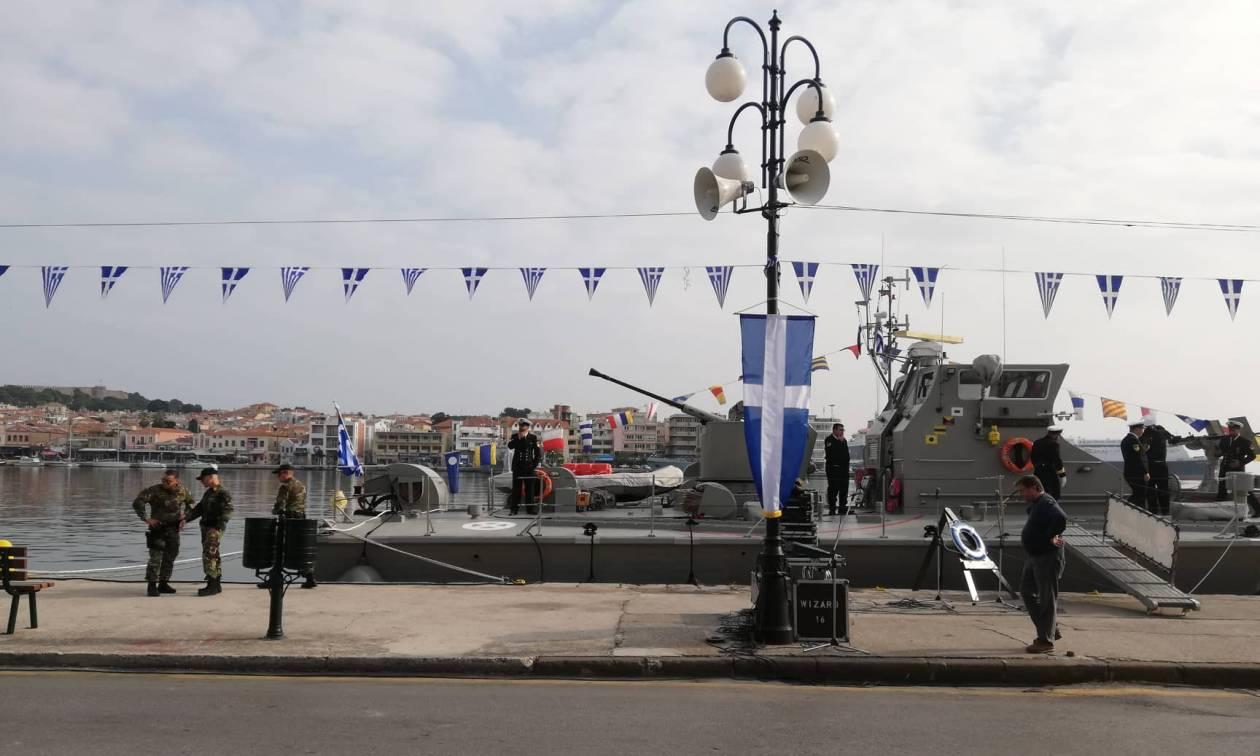 Η Μυτιλήνη γιορτάζει την απελευθέρωσή της παρουσία του Προκόπη Παυλόπουλου (pics&vids)