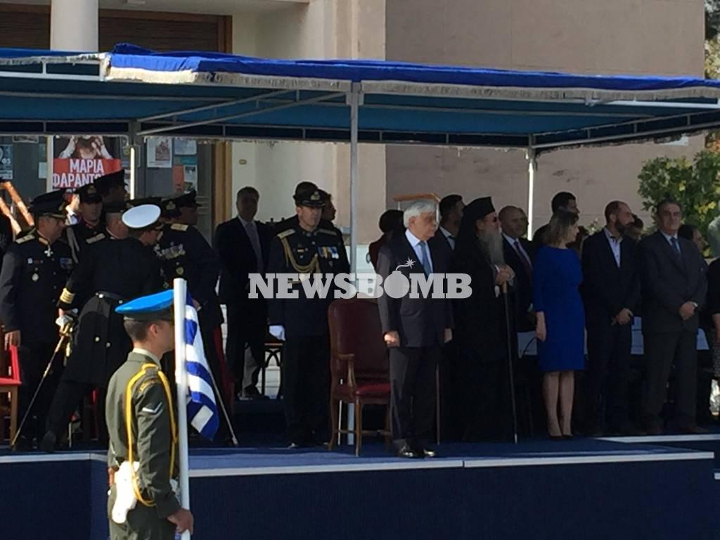 Η Μυτιλήνη γιορτάζει την απελευθέρωσή της παρουσία του Προκόπη Παυλόπουλου (pics)