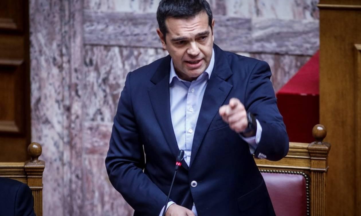 Τσίπρας σε ΝΔ: Με βαριά καρδιά θα ψηφίσετε σύντομα και τη μη περικοπή των συντάξεων