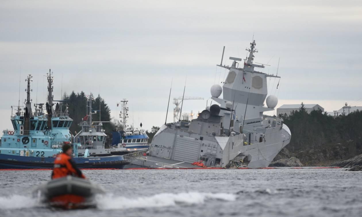 Βόρεια Θάλασσα: Εφτά τραυματίες σε σύγκρουση τάνκερ ελληνικών συμφερόντων με φρεγάτα (pics+vids)