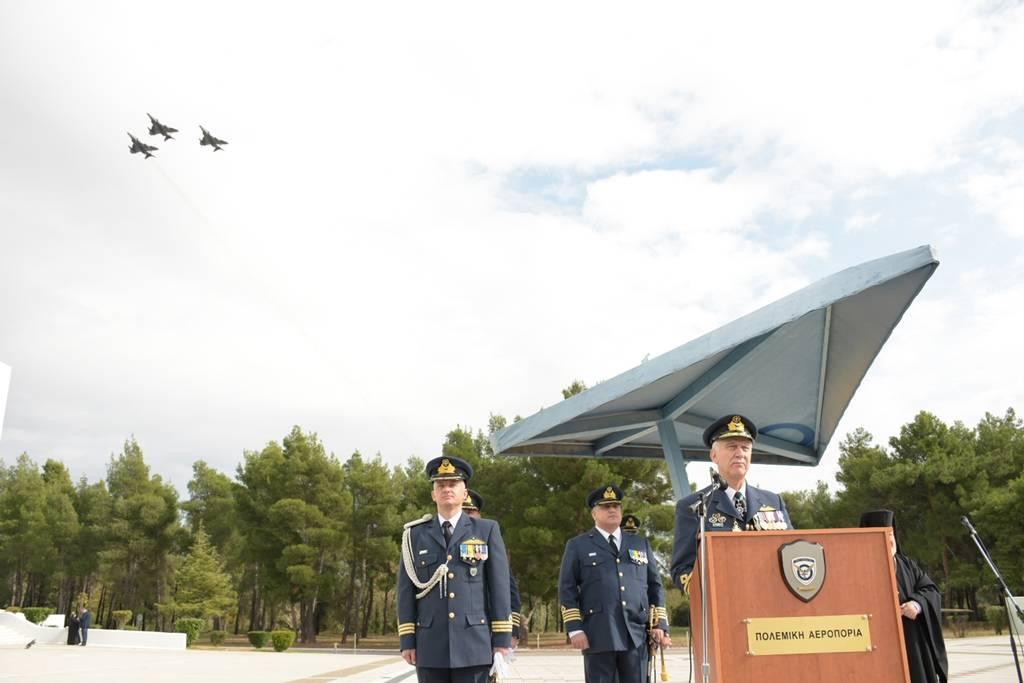 Αρχηγός ΓΕΑ: Αποστολή της Πολεμικής Αεροπορίας «να πετάει, να μάχεται και να νικάει»