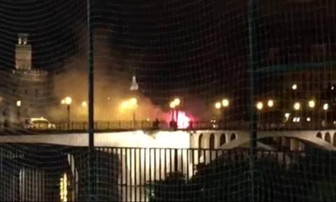 Χάος και συλλήψεις στη Σεβίλλη πριν το Μπέτις – Μίλαν (videos)