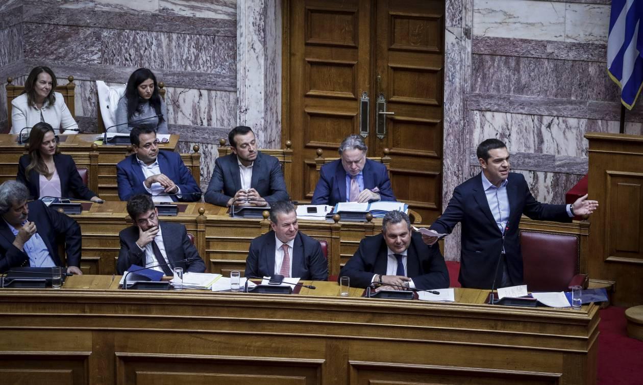 Αντιπαράθεση στη Βουλή για Εκκλησία και Κατσίφα