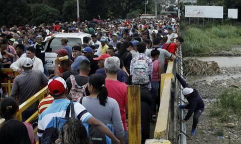 Βενεζουέλα: 3 εκατομμύρια πολίτες έχουν φύγει από τη χώρα σύμφωνα με τον ΟΗΕ