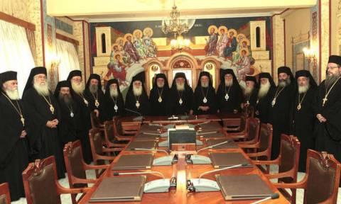 Έκτακτη σύγκληση της Ιεραρχίας της Εκκλησίας της Ελλάδος για τη συμφωνία Εκκλησίας - Πολιτείας