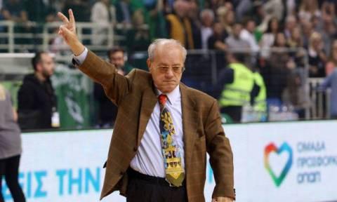 Παναθηναϊκός ΟΠΑΠ – Ολυμπιακός: Ευχαρίστησε τον κόσμο ο Θανάσης Γιαννακόπουλος (video+photos)