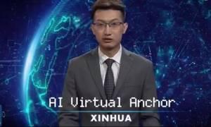 Κίνα: Το πρώτο ρομπότ που παρουσιάζει ειδήσεις είναι γεγονός