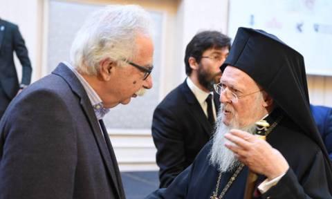 Γαβρόγλου για την «ιερή συμφωνία»: Θα μεταφέρω τους προβληματισμούς του Πατριάρχη