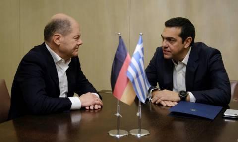 Σολτς μετά τη συνάντηση με Τσίπρα: Η Ευρώπη είναι το κοινό μας μέλλον