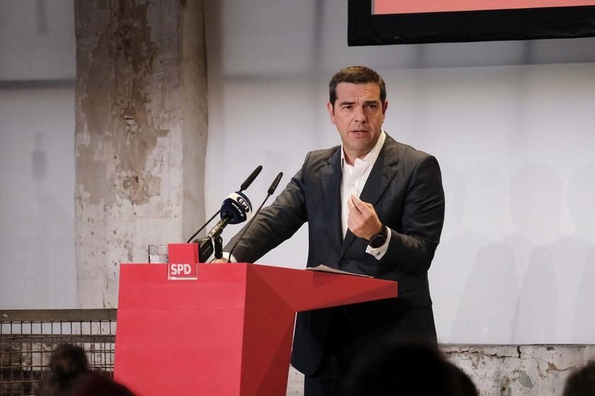 «Άνοιγμα» Τσίπρα σε Σοσιαλιστές: Μόνο ενωμένοι θα σώσουμε την Ευρώπη από την ακροδεξιά (vid)