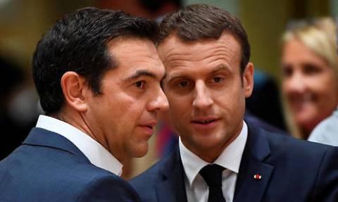 Παρίσι: Ο Αλέξης Τσίπρας στο δείπνο που παραθέτει ο Γάλλος πρόεδρος