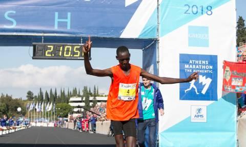 Μαραθώνιος Αθήνας 2018: Ο Μπρίμιν Κιπκορίρ Μισόι ο μεγάλος νικητής