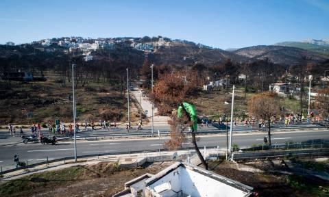 Συγκίνηση: Χιλιάδες μαραθωνοδρόμοι διένυσαν 4 χιλιόμετρα καμένης γης (pics)