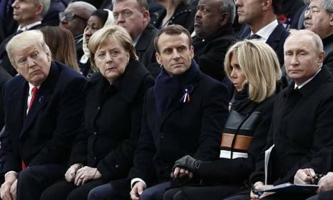 Παρίσι: Όλοι οι ηγέτες του πλανήτη τιμούν τα 100 χρόνια από το τέλος του Α' Παγκόσμιου Πολέμου (vid)