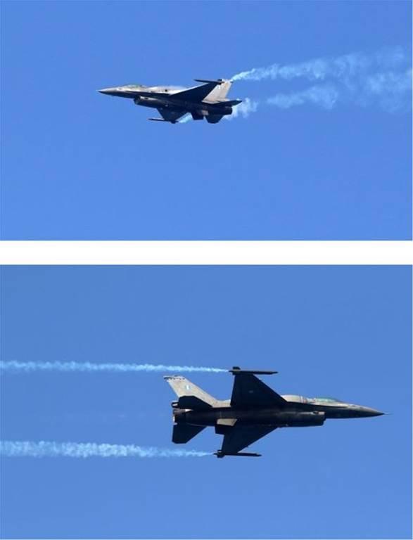 Ανατριχίλα: Τα F-16 της ομάδας «ΖΕΥΣ» «σκίζουν» τον ουρανό του Ηρακλείου (pics+vid)