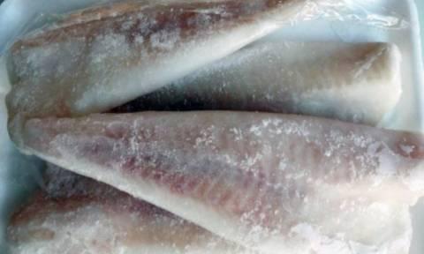 Προσοχή: Αποσύρονται από την αγορά ακατάλληλα κατεψυγμένα ψάρια