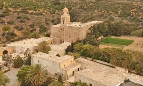 Κρήτη: Η ιστορική Μονή Τοπλού όπως δεν την έχετε ξαναδεί! Βίντεο drone