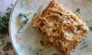 Η συνταγή της ημέρας: Σουφλέ με λιγκουίνι και αρνί