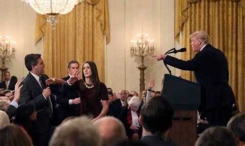 Αγωγή κατά του Ντόναλντ Τραμπ κατέθεσε το CNN (Pics+Vid)