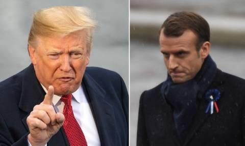 «Πόλεμος» Τραμπ – Μακρόν: «Μαθαίνατε γερμανικά όταν οι ΗΠΑ μπήκαν στον πόλεμο κατά των Ναζί»