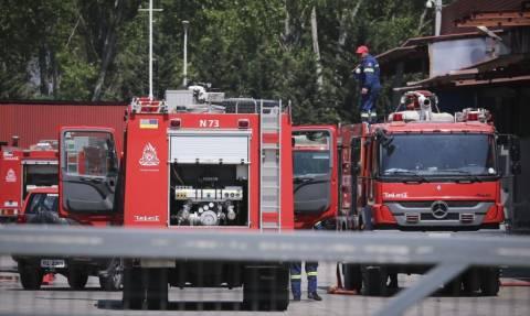 Χαλκίδα: Μεγάλη φωτιά σε αποθήκη ρούχων στην Γλύφα