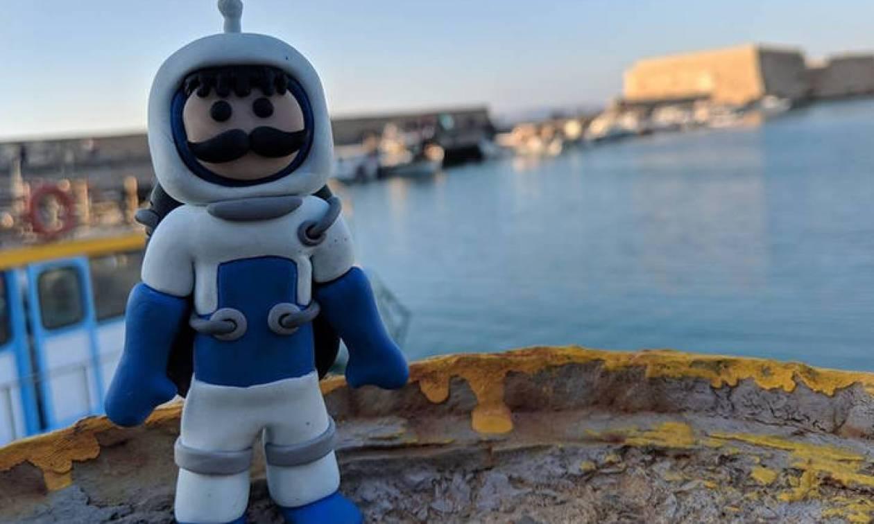 Ο Κρητικός «αστροναύτης» Μανούσος έφτασε μέχρι τη στρατόσφαιρα και επέστρεψε σώος!