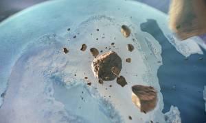 Γροιλανδία: Ανακαλύφθηκε τεράστιος κρατήρας από μετεωρίτη κάτω από τους πάγους (pics&vid)