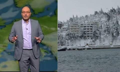 Εκτακτη ενημέρωση απ' τον Σάκη Αρναούτογλου: Ποιες πόλεις θα ντυθούν στα λευκά;