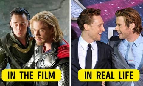 Ήξερες πως αυτοί οι 20 ηθοποιοί είναι κολλητοί;