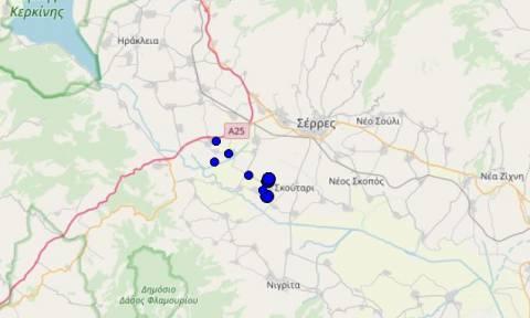 Σεισμός στο Κιλκίς - Αισθητός στη Θεσσαλονίκη