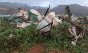 Καιρός: Καταστροφικός υδροστρόβιλος στο Λασίθι - Δείτε τι άφησε πίσω του
