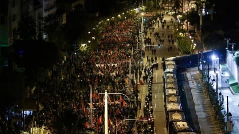 Πολυτεχνείο: Ικανοποίηση στο υπουργείο Προστασίας του Πολίτη για την αντίδραση της Αστυνομίας