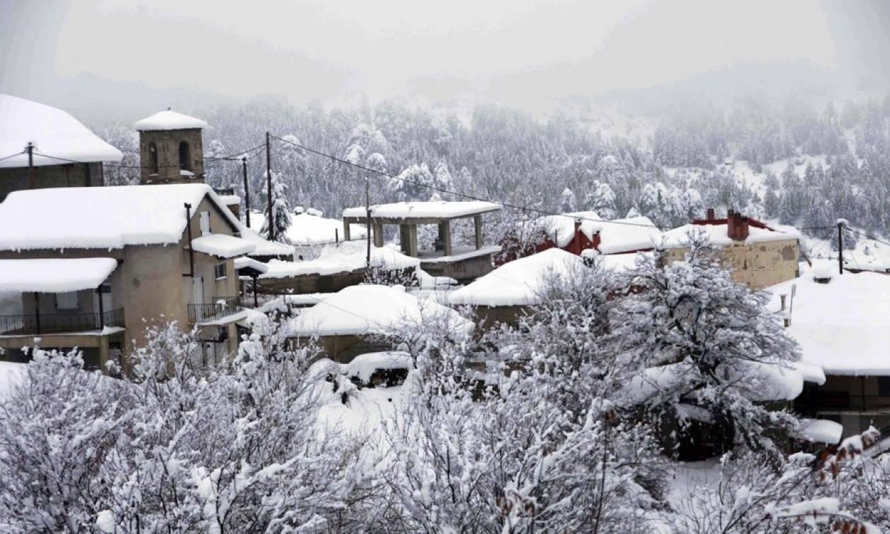 Καιρός: Στα «λευκά» η μισή Ελλάδα - Σε ποιους νομούς δεν θα ανοίξουν τα σχολεία (vid)