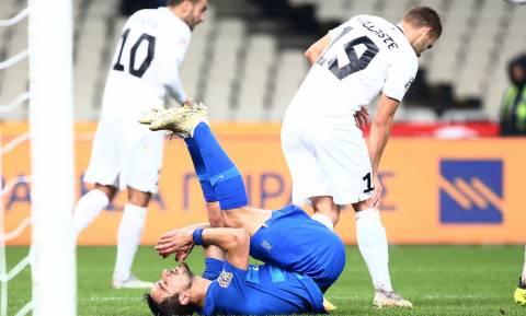 Ελλάδα-Εσθονία 0-1: Φινάλε με ήττα στο «παγωμένο» ΟΑΚΑ!