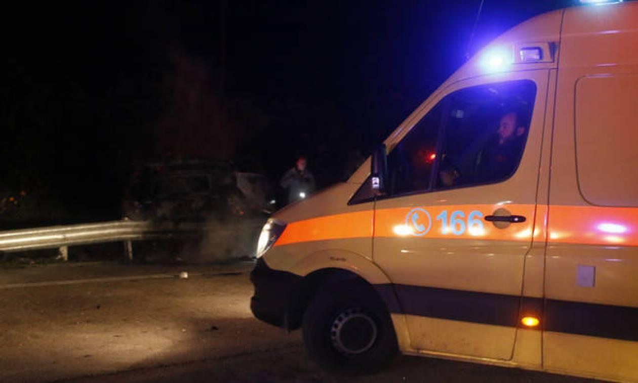 Σέρρες: Θανατηφόρο τροχαίο σε δρόμο κοντά στη Νιγρίτα