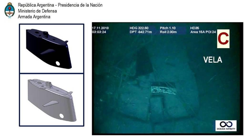 Αργεντινή: Οι πρώτες φωτογραφίες από το υποβρύχιο που βρέθηκε ένα χρόνο μετά τη βύθισή του