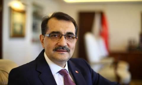 Τούρκος υπουργός ενέργειας: Μη αποδεκτά τα μονομερή βήματα στην Ανατολική Μεσόγειο