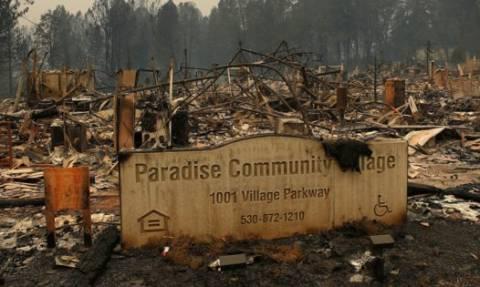 Η Paradise της Καλιφόρνια πριν και μετά τις καταστροφικές πυρκαγιές (vid)