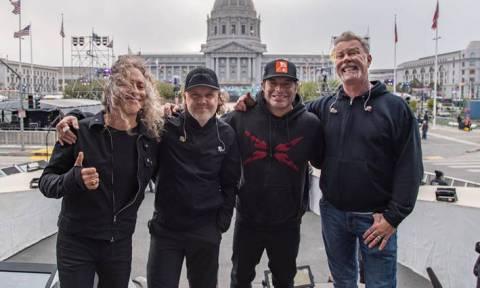 Rock... δωρεά των Metallica για τους πληγέντες από τις φονικές φωτιές της Καλιφόρνια