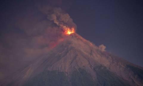 Γουατεμάλα: Ολοκληρώθηκε η ηφαιστειακή δραστηριότητα στο Φουέγο
