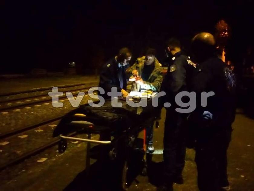 Τραγωδία στη Θήβα: Τρένο παρέσυρε και σκότωσε 27χρονο (pics)