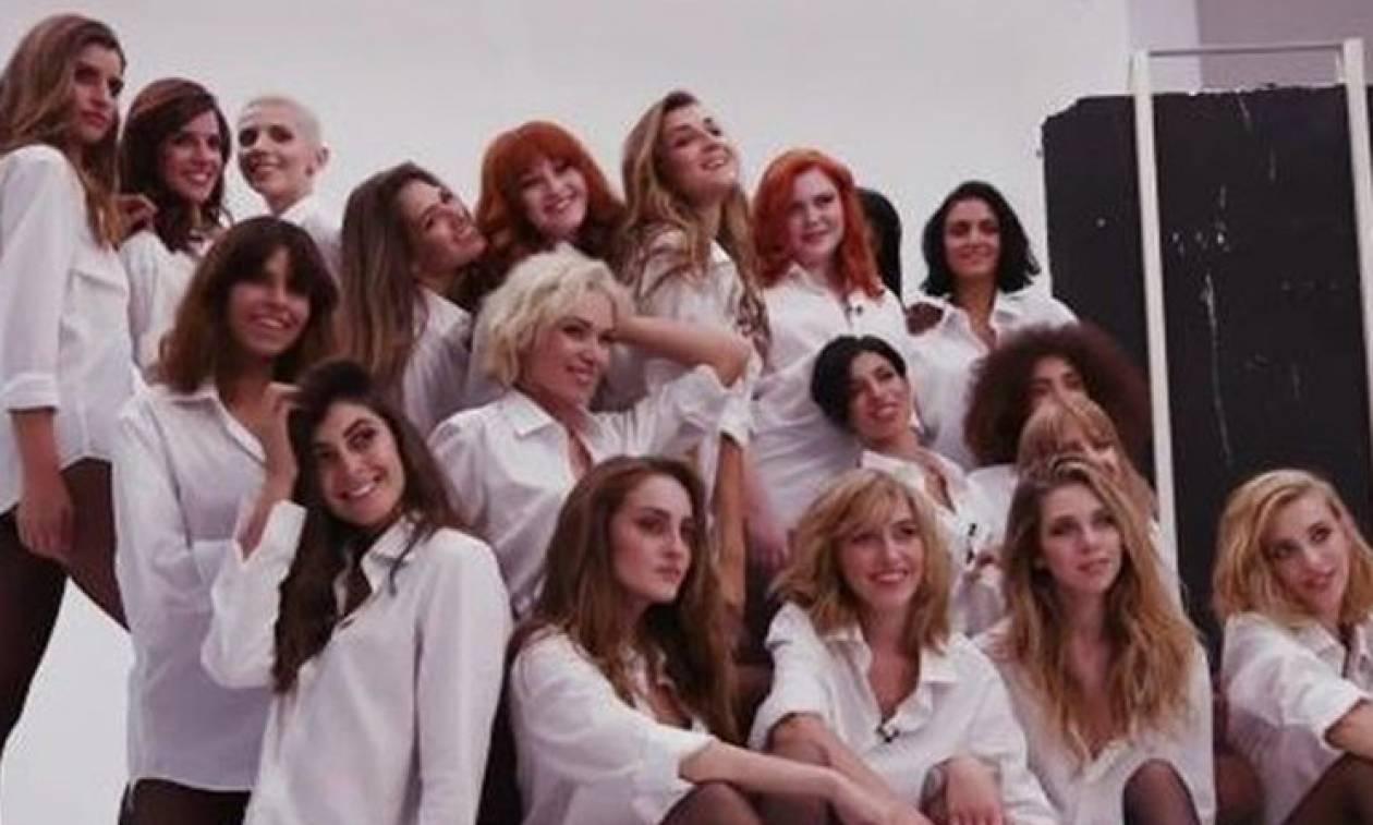 Παίκτρια του Next Top Model διαφήμιζε υαλουρονικό στην εκπομπή του Μένιου Φουρθιώτη! (pic)