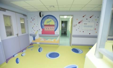 Συνεχίζεται η ανακαίνιση των παιδιατρικών νοσοκομείων με 3,5 εκατ. ευρώ από τον ΟΠΑΠ