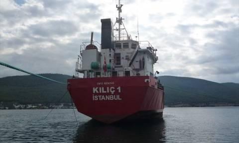 Υπό έλεγχο η πυρκαγιά στο τουρκικό φορτηγό πλοίο κοντά στο Ταίναρο