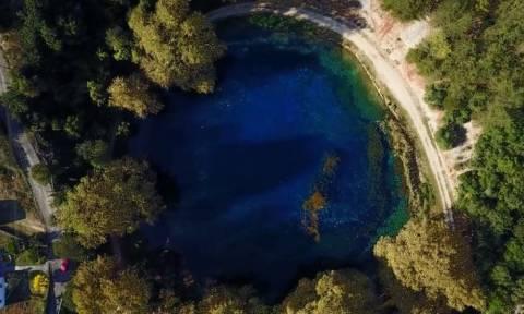 Πηγές Λούρου Ιωαννίνων: Η γαλάζια λίμνη της Ηπείρου