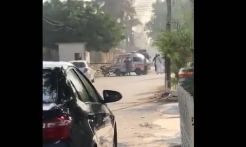 Ένοπλη επίθεση στο προξενείο της Κίνας στο Πακιστάν: Δύο νεκροί και ένας τραυματίας (vid)