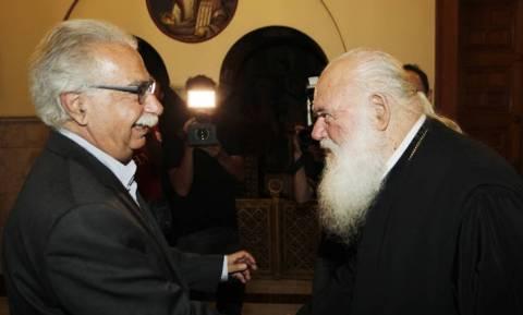 Συνάντηση Γαβρόγλου - Ιερώνυμου για την «ιερή συμφωνία»
