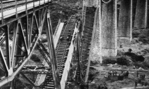 Σαν σήμερα το 1942 Άγγλοι κομάντος και Έλληνες αντάρτες ανατινάζουν τη γέφυρα του Γοργοποτάμου